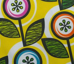 Footnote Flower (Yellow) || midcentury modern garden floral flowers leaves nature spring summer