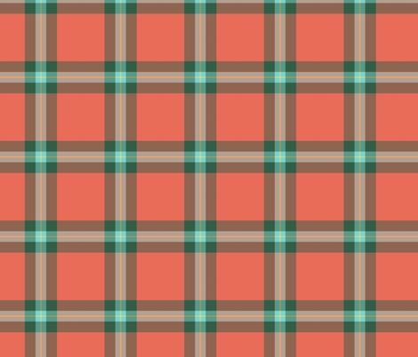 "MacLaine weathered tartan, 4"" fabric by weavingmajor on Spoonflower - custom fabric"