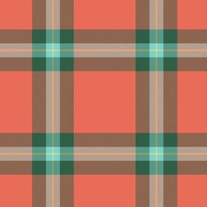 MacLaine weathered tartan