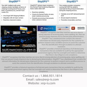 SAP Multi Carrier Shipping