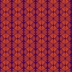 Bear Paws Orange Purple