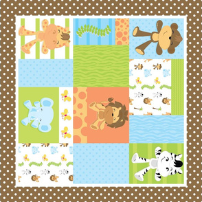 Jungle Fat Quarters