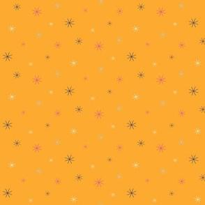 Sparkle Stars - Orange