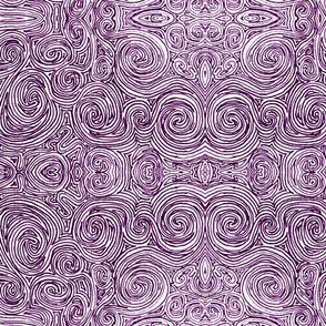 Violet Swirls