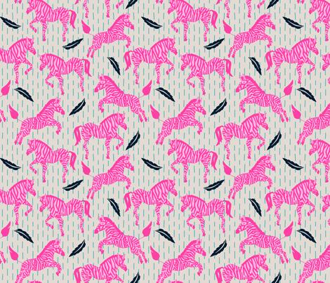 zebrini_zebra_maffa fabric by holli_zollinger on Spoonflower - custom fabric