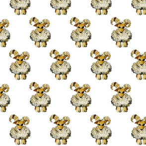 Minky the Wood Sheep