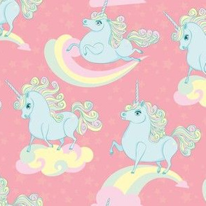 Peach Prancing Ponycorns