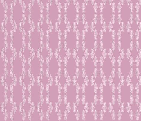 Hoja Lilac fabric by arboreal on Spoonflower - custom fabric