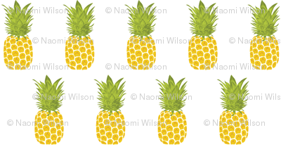 Pineapple in Rows