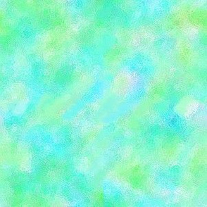 watercolor blender green