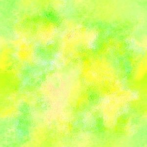 watercolor blender yellow green_