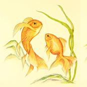 Goldfish Swirling
