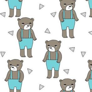 Teddy Bear - Blue by Andrea Lauren