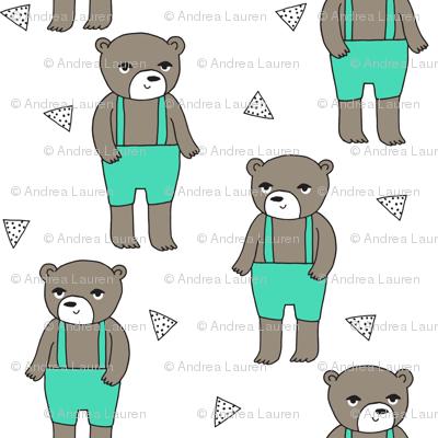Teddy Bear - LIght Jade by Andrea Lauren