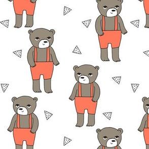 Teddy Bear - Orange by Andrea Lauren