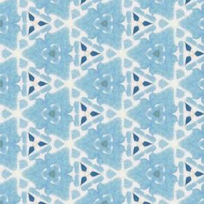Sea Blue Triangle