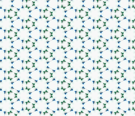 Playthings Blue Green fabric by ingridrest on Spoonflower - custom fabric