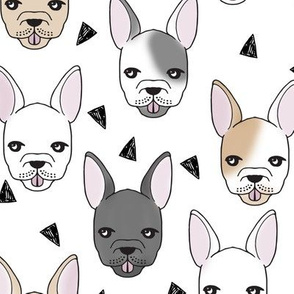 french bulldog // dogs cute dog breed fabric frenchie bulldog dogs