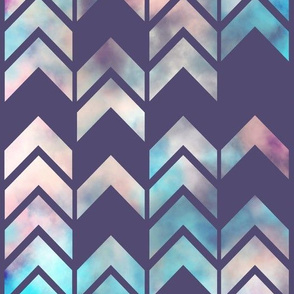 Chevron Dream Purple
