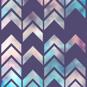 Chevron Dream Purple