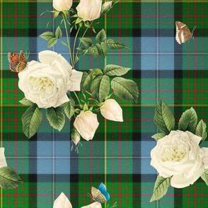 Caledonian Floral Tartan