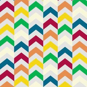 Multi-colored Chevrons