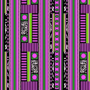 Fun pink plus stripes