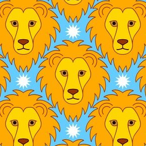 04401902 : leo the star lion
