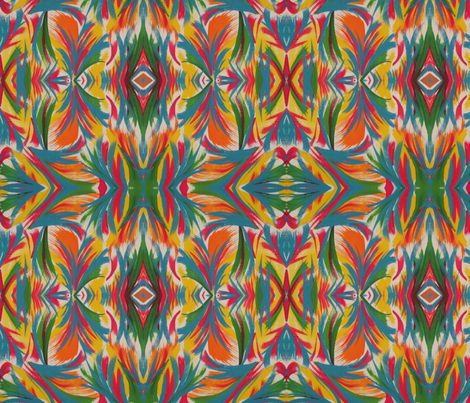 PsychoIDYLLIC fabric by katdermane on Spoonflower - custom fabric