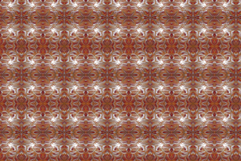 Orange Silver Red fabric by katdermane on Spoonflower - custom fabric
