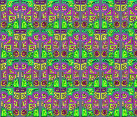 Bright Inca fabric by lizplummer on Spoonflower - custom fabric