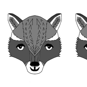 raccoon // plush plushie cut and sew raccoon animal kids cut and sew pillow nursery baby