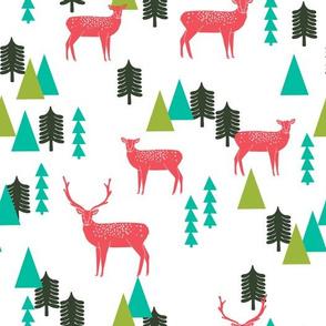 Christmas Reindeer - White by Andrea Lauren