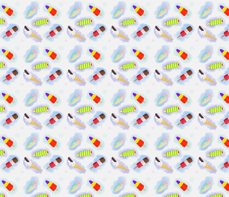 Lollies_and_Ice_Creams fabric by knight_costumes on Spoonflower - custom fabric