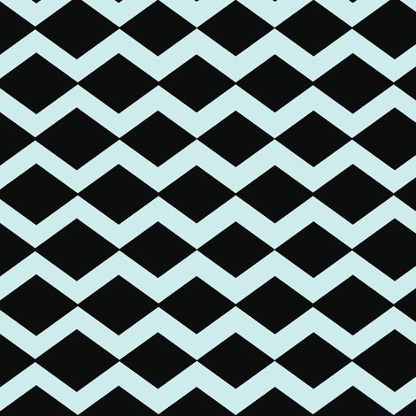 basketweave- blue licorice fabric by drapestudio on Spoonflower - custom fabric
