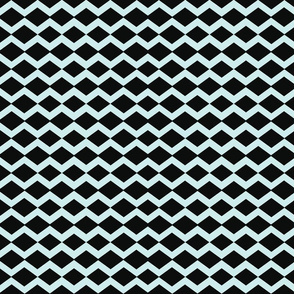 basketweave- blue licorice