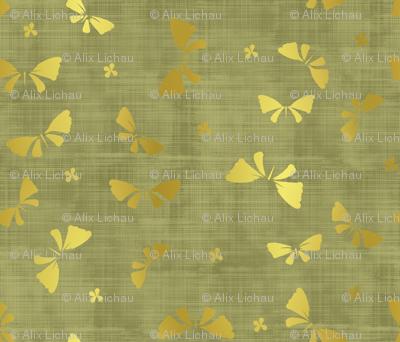La danse du Papillon d'or jungle