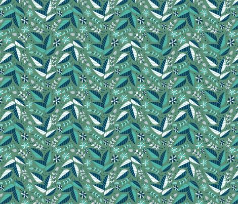 leafs fabric by jodysart on Spoonflower - custom fabric