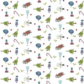 Mod Christmas Fun MED7- mistletoe