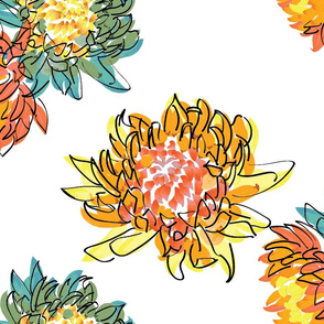 Chrysanthemum Pairs