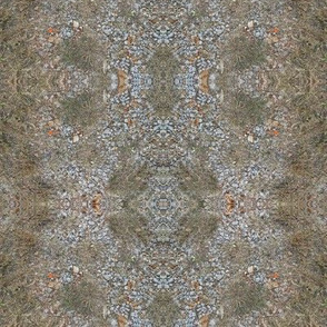 Nature's Plant and Pebble Mosaic (Ref. 4306)