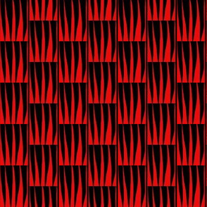 Hot Flames Red Black