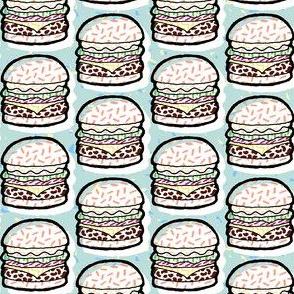 Confetti Burgers - mint