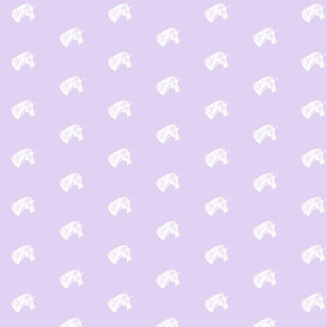 Unicorn_Bust_White_on_Lilac