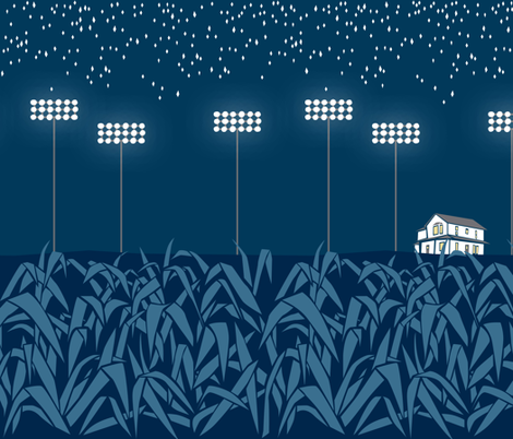 Field of Dreams fabric by ceciliamok on Spoonflower - custom fabric