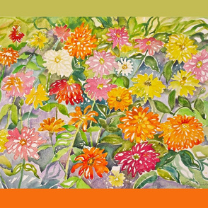 Riot_of_Zinnias_dec_pillow