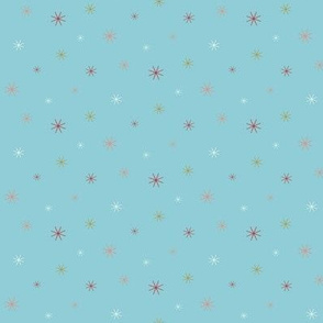 Sparkle Stars - Light Blue