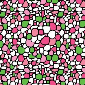 Colored Pebbles in Pinks