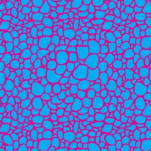 Colored Pebbles Crackle