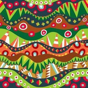 Festival Tribal Pattern